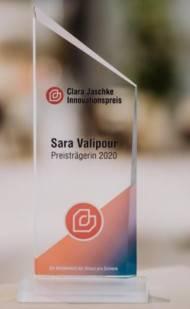 Der Clara Jaschke Innovationspreis wird dieses Jahr in Hamburg verliehen.