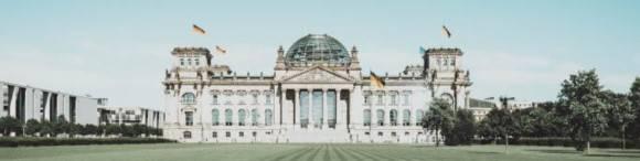 Der Bundestag in Berlin.